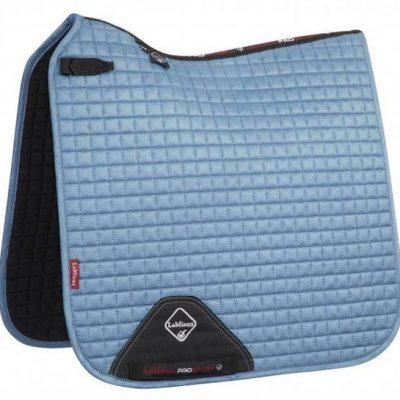 Lemieux ProSport Dressage Square Suede Ice Blue-Full Size